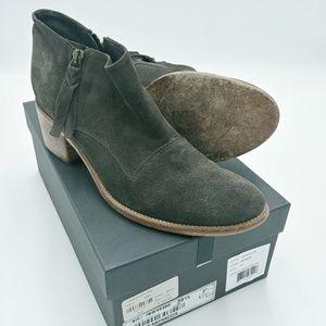 ALBERTO FERMANI | capricia charcoal ankle boots